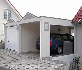 carport magic die wandelbare offene garage garagen welt. Black Bedroom Furniture Sets. Home Design Ideas