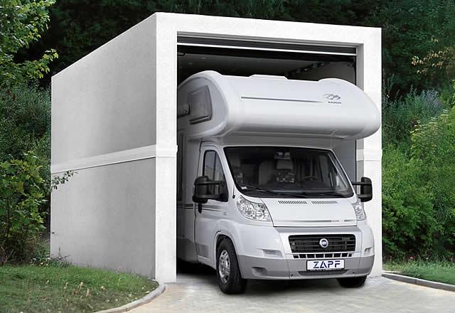 gro raumgarage f r wohnmobil und transporter garagen welt. Black Bedroom Furniture Sets. Home Design Ideas
